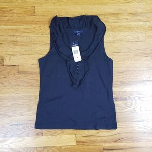 Ladies M collared at the sea tank top